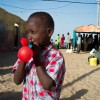 Roter Ballon, St. Louis, Senegal  2010  © Werner Mansholt
