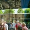 Bushaltestelle an der Kathedrale, Riga, Lettland 2010  © Werner Mansholt