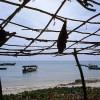 Photo 6: Unterstand an einer Dhau-Werft, Stonetown, Sansibar 2008  © Werner Mansholt