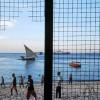 Photo 8: Abendliches Fussballspiel am Strand von Stonetown, Sansibar 2008  © Werner Mansholt