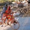 Photo 18: Fahrradfahrer in Jambiani, Sansibar 2008  © Werner Mansholt