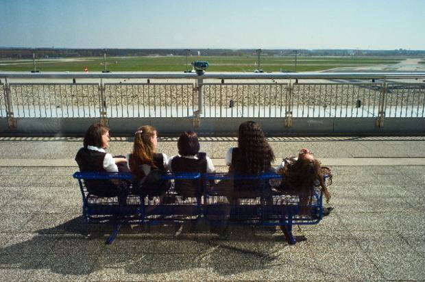 Frankfurt Airport - Aschewolke hindert Flugbetrieb 2010